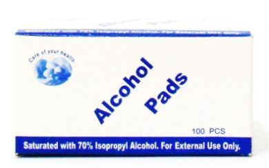 Alcohol Pads - 100 pieces