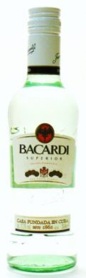 Bacardi Superior Original Premium Rum - 35 cl (37.5% vol)