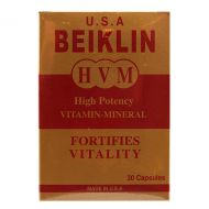 Beiklin HVM High Potency Vitamin-Mineral - 30 Capsules