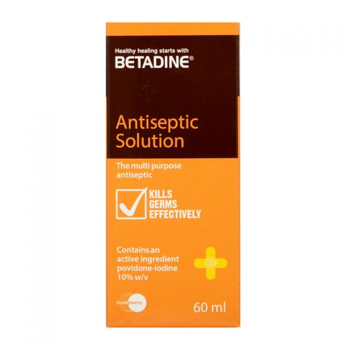 Betadine Antiseptic Solution - 60 ml
