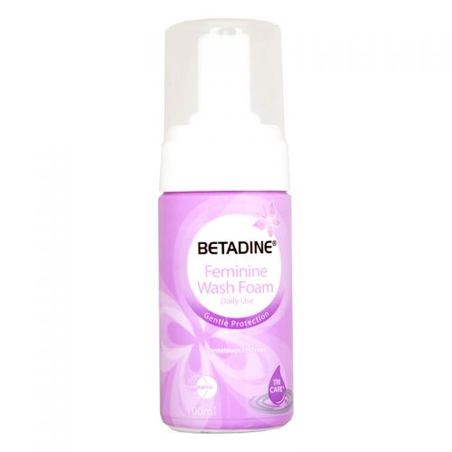 Betadine Feminine Wash  Foam (Daily Use) - 100ml