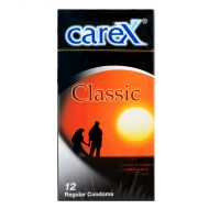 Carex Classic - 12 Regular Condoms