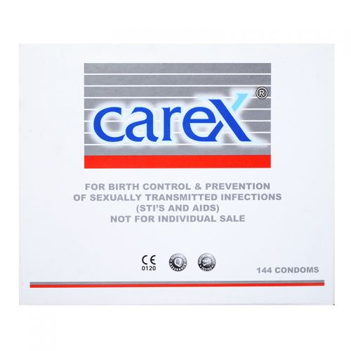 Carex Condom - 144 Individually Packed Condoms