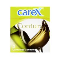 Carex Contura - 3 Contoured Condoms