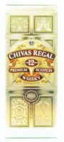 Chivas Regal Aged 12 Years Premium Scotch Whisky  (1801) - 750 ml (40% alc/vol)
