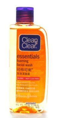 Clean & Clear Essentials Foaming Facial Wash - 100 ml