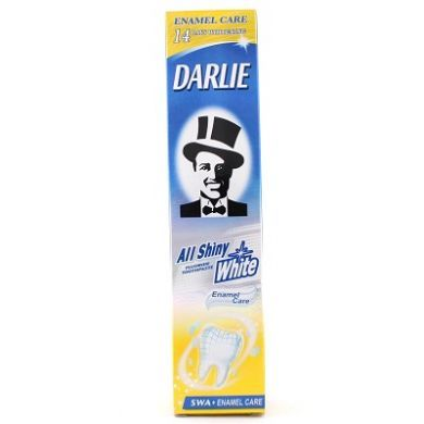 Darlie All Shiny White Enamel Care Fluoride Toothpaste - 90gm