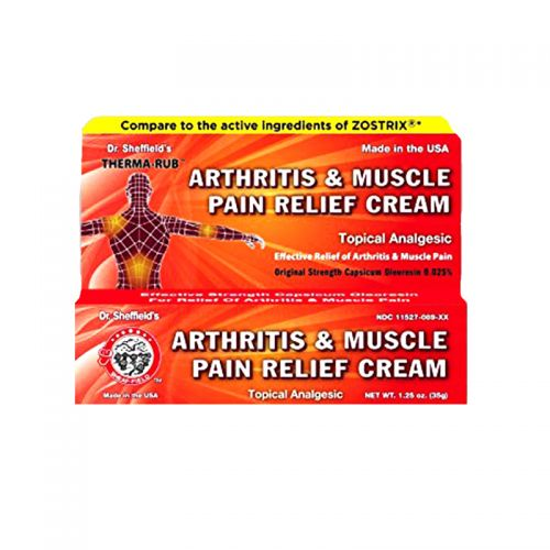 Dr. Sheffield's Arthritis & Muscle Pain Relief Cream - 43g