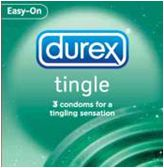 Durex Tingle Condom - 3 Condoms For A Tingling Sensation