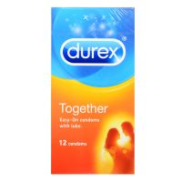 Durex Together Condom - 12 Easy-On Condoms With Lube