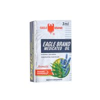 Eagle Brand Medicated Oil (Aromatic) Lavender Eucalyptus - 3ml