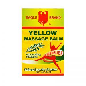 Eagle Brand Yellow Massage Balm - 40 gm