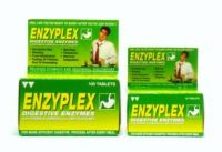 Enzyplex Digestive Enzymes with Vitamin B Complex plus Anti-Flatulent - 30 Tablets