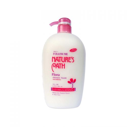 Follow Me Nature's Path Flora Shower Foam (non-drying)- 1000ml