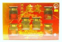 Fortune Swallow Brand Bird's Nest With Ginseng & Rock Sugar - 6 Bottles X 70 ml
