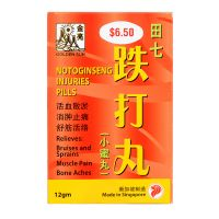 Golden Sun Brand Notoginseng Injuries Pills - 12gm per bottle