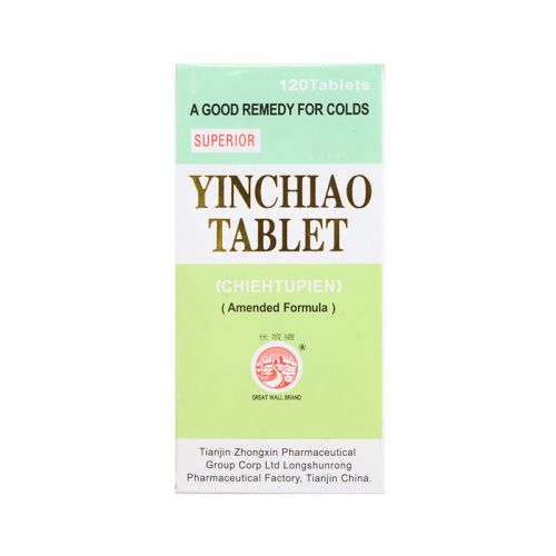 Great Wall Brand Yinchiao Tablet (Ammended Formula) - 120 Tablets