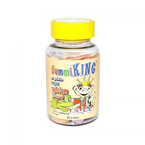 Gummi King Calcium plus Vitamin D - 60 Gummies