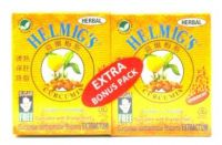 Helmig's Curcumin Herbal Effervescent - 10 Sachets x 2 Packs (Extra Bonus Pack)