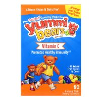 Hero Yummi Bears Vitamin C - 60 Gummy Bears