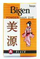 Hoyu Bigen Permanent Powder Hair Color (Black) - 6 gm