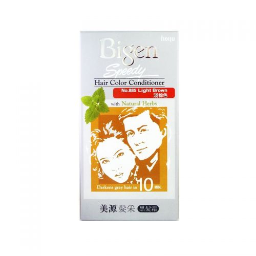 Hoyu Bigen Speedy Hair Color Conditioner With Natural Herbs - No.885 Light Brown