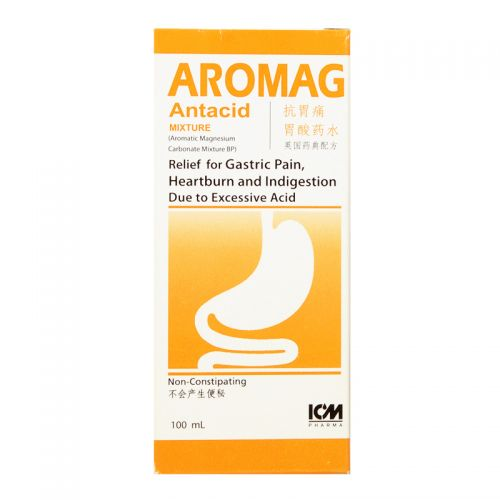 ICM Pharma Aromag Antacid Mixture - 100ml