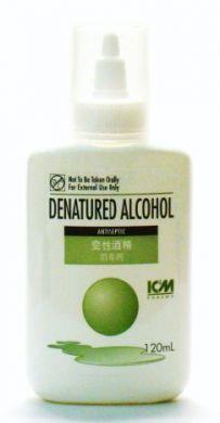 ICM Pharma Denatured Alcohol (Antiseptic) - 120 ml