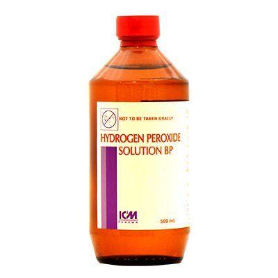 ICM Pharma Hydrogen Peroxide Solution BP - 500 ml