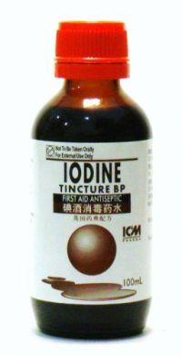 ICM Pharma Iodine Tincture BP - 100 ml