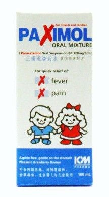 ICM Pharma Paximol Oral Mixture - 100 ml (for infants & children)