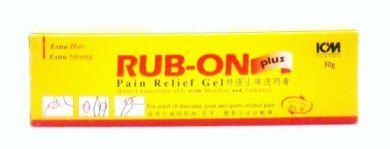 ICM Pharma Rub-On Plus Pain Relief Gel - 30 gm