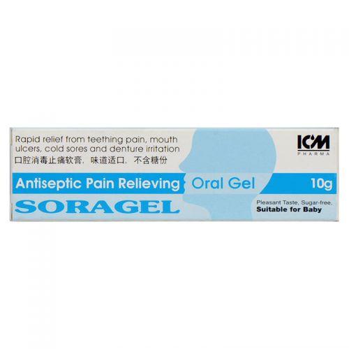 ICM Pharma Soragel Oral Gel - 10 gm