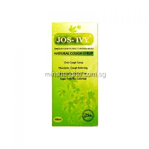 JOS-IVY Natural Cough  Syrup - 100ml