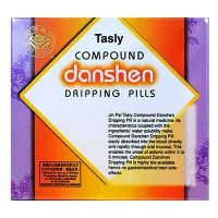 Jin Pai Tasly Compound Danshen Dripping Pills - 27mg/pills x 100 Pills x 2 Bottles