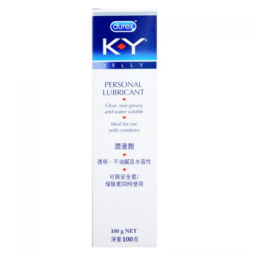 K-Y Brand Jelly Personal Lubricant - 100 gm