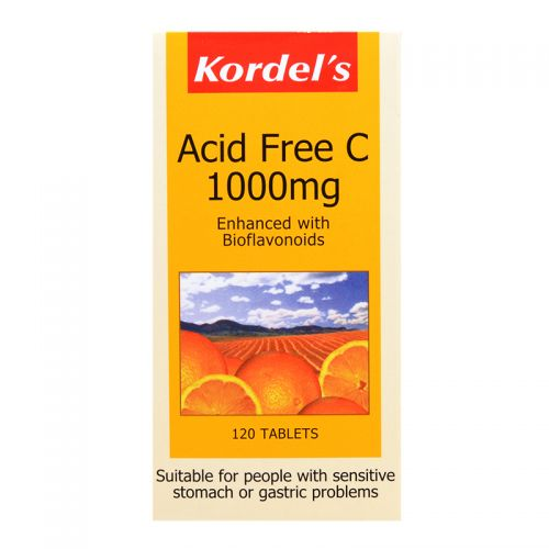 Kordel's Acid Free C 1000mg - 120 Tablets