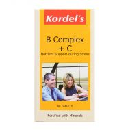 Kordel's B Complex + C - 60 Tablets