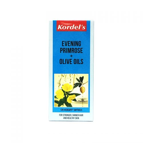 Kordel's Evening Primrose + Olive Oils - 120 Vegicaps Softgels