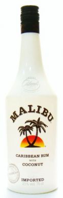 Malibu Caribbean Rum With Coconut (Imported) - 75 cl (21% vol)