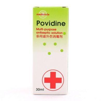 Medicircle Povidine Multi-purpose Antiseptic Solution - 30ml