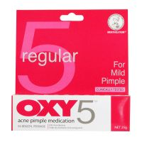 Mentholatum Regular Oxy 5 Acne Pimple Medication - 25g