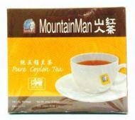MountainMan Pure Ceylon Tea (Extra Strong) - 100 Tea Bags x 2 gm