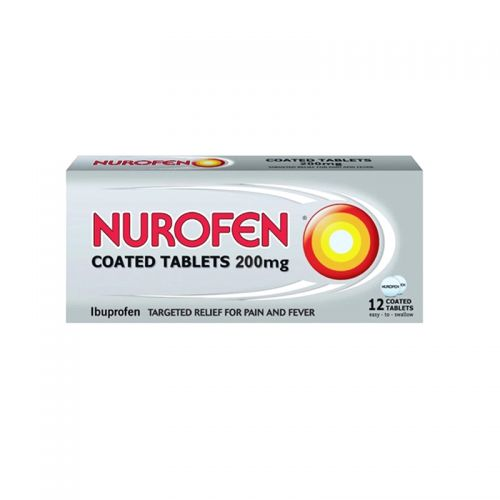 Nurofen Coated Tablets 200mg - 12 Coated Tablets