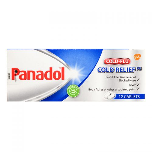 Panadol Cold + Flu Cold Relief - 12 Caplets