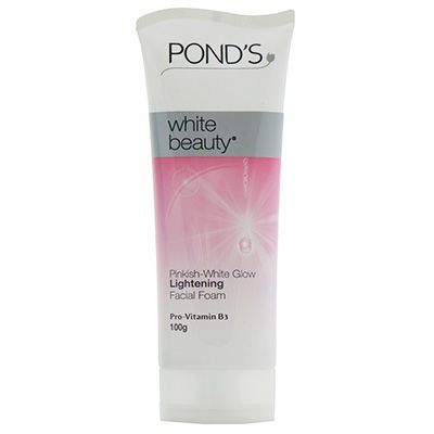 Ponds White Beauty Pinkish-White Glow Lightening Facial Foam - 100g