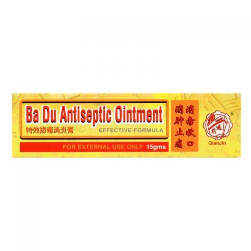 Qian Jin Ba Du Antiseptic Ointment - 15 gm