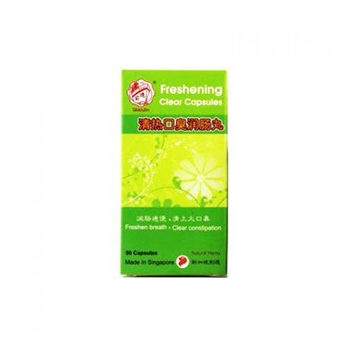 QianJin Freshening Clear Capsules - 50 Capsules
