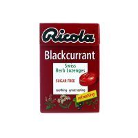 Ricola Blackcurrant Swiss Herb Lozenges - 45gm