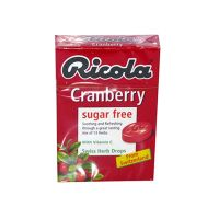 Ricola Cranberry Swiss Herb Lozenges - 45gm